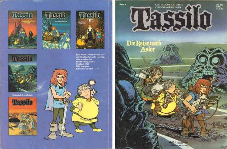 Tassilo - Reise nach Aslor - Band 4 - Text: Fauche/Leturgie - Zeichnungen: Luguy