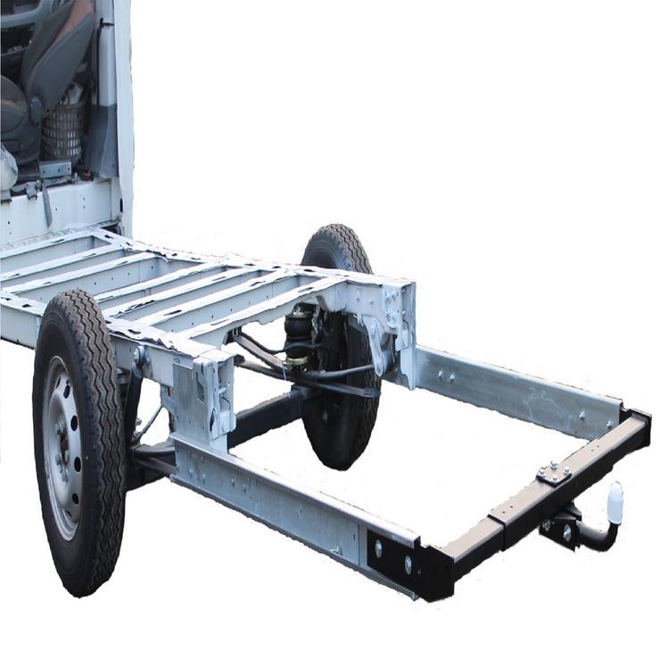 Bild 3: Anhängerkupplung Variabel 12,5 kN inkl. Rahmenverlängerung Normal Fiat Ducato ZFA250 und Elektrokabelsatz für Ihr Wohnmobil / Reisemobil