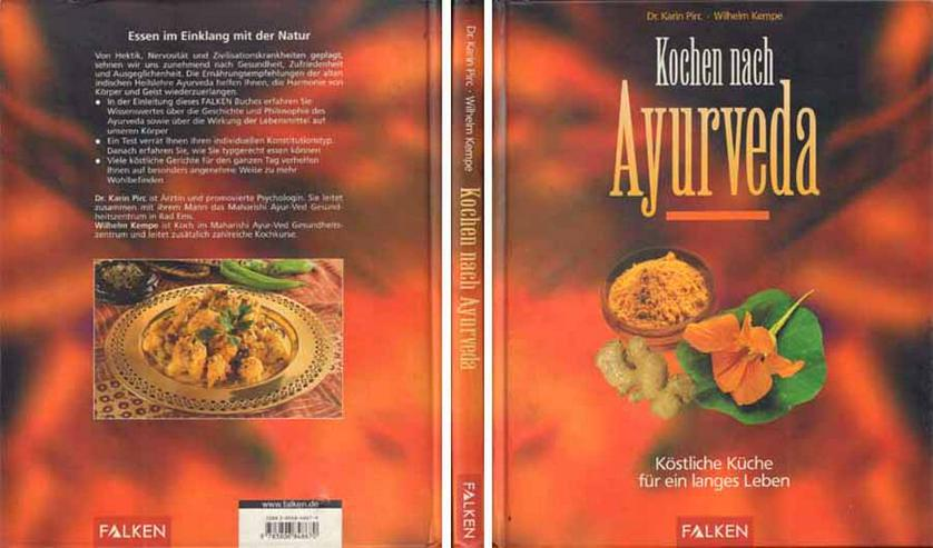 Kochbuch von Dr. Karin Pirc & Wilhelm Kempe - Kochen nach Ayurveda - 2001 - Kochen - Bild 1