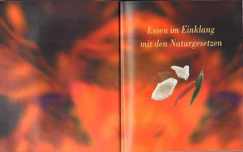 Bild 2: Kochbuch von Dr. Karin Pirc & Wilhelm Kempe - Kochen nach Ayurveda - 2001