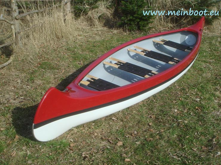 Neu ! Kanu 4er Kanadier 500 - Kanus, Ruderboote & Paddel - Bild 1