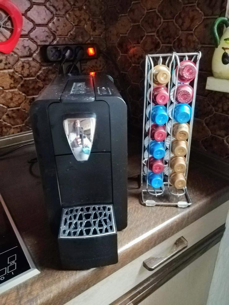 Kaffee-Tee-Kakao-Kapselmaschine , schwarz ,  zu verkaufen - Kaffeemaschinen - Bild 1