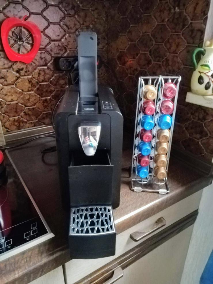 Bild 3: Kaffee-Tee-Kakao-Kapselmaschine , schwarz ,  zu verkaufen