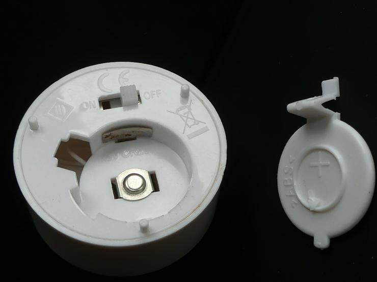 Bild 4: Elektrisches Teelicht (auch zu verschicken)