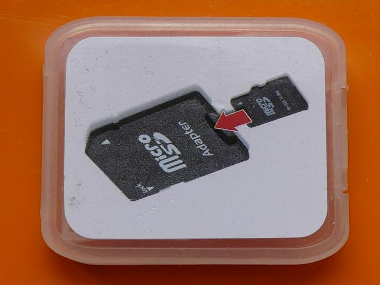 SD-Kartenhalter für micro SD (auch zu verschicken) - Speicherkarten - Bild 1