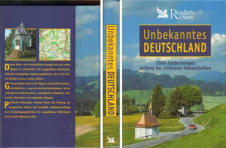 Unbekanntes Deutschland - 2000 Entdeckungen entlang der schönsten Nebenstraßen - Reiseführer & Geographie - Bild 1