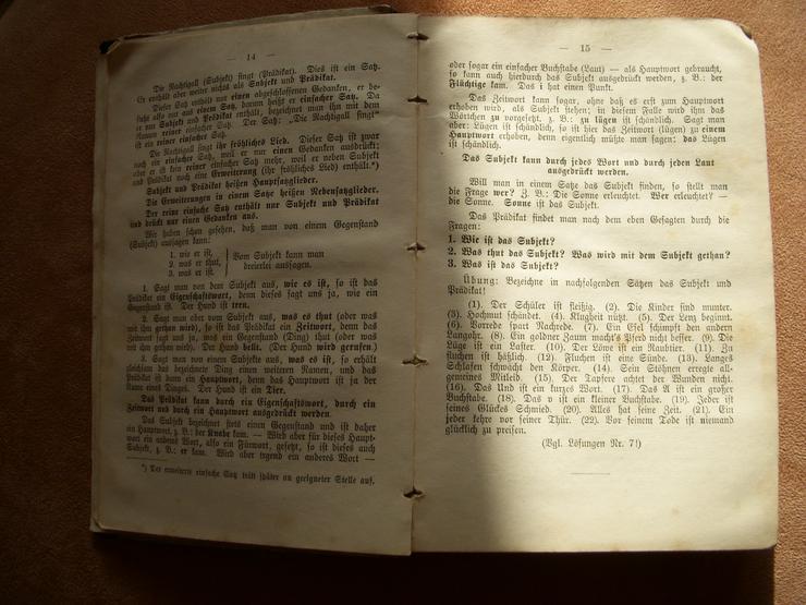 Bild 4: Rarität ! Richtig Deutsch von 1895 !