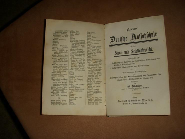 Bild 2: Rarität ! Richtig Deutsch von 1895 !