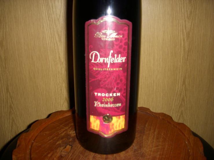Bild 2: Dornfelder Wein,XXL, 2006 !