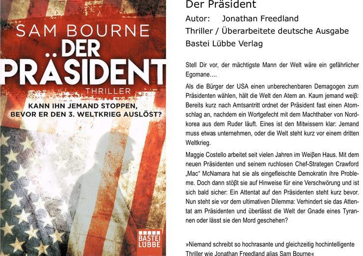 Der Präsident - Romane, Biografien, Sagen usw. - Bild 1