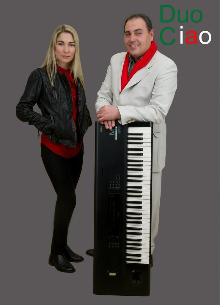 Italienische Duo Musikband-DuoCiao