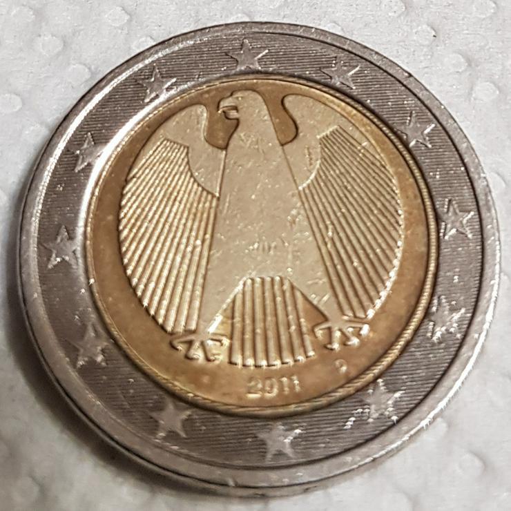 2 Euro Münze von 2011 D