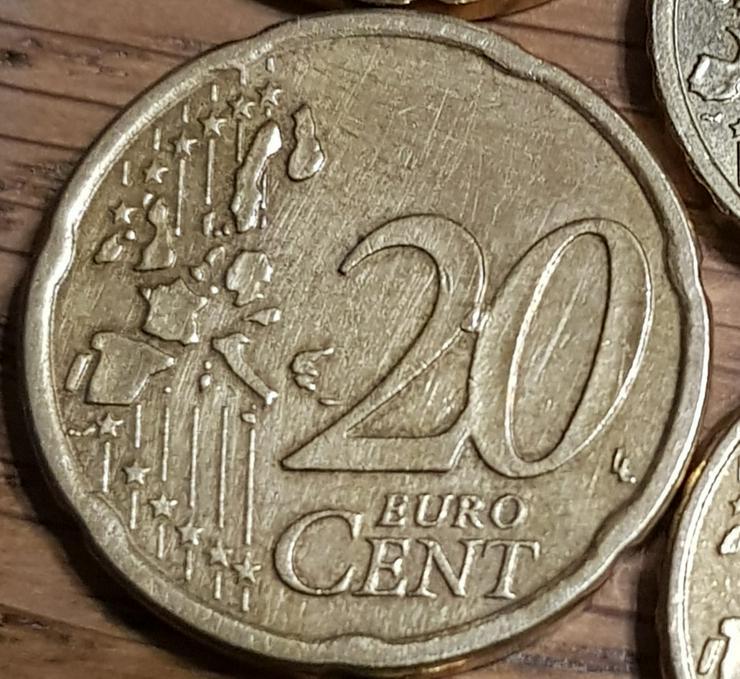 Bild 2: Eine 20 Cent Münze aus Österreich von 2003