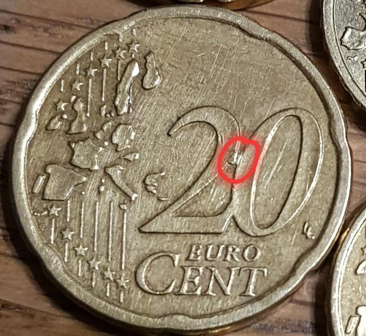 Bild 3: Eine 20 Cent Münze aus Österreich von 2003