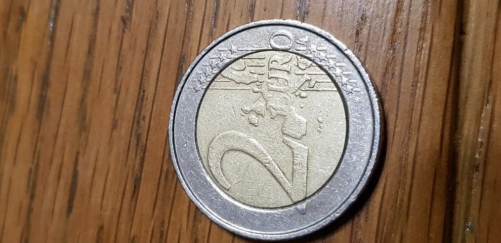 2 Euro Münze von 2005 aus Belgien