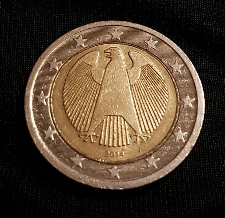 2 Euro Münze von 2014 J