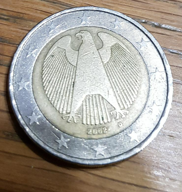 2 Euro Münze 2002 D