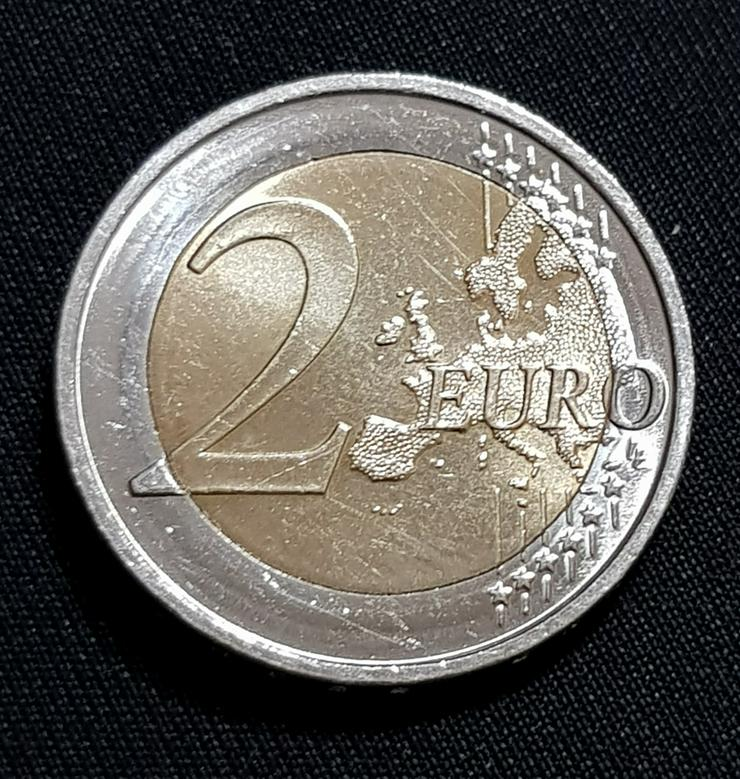 Bild 2: 2 Euro Münze 2002 D