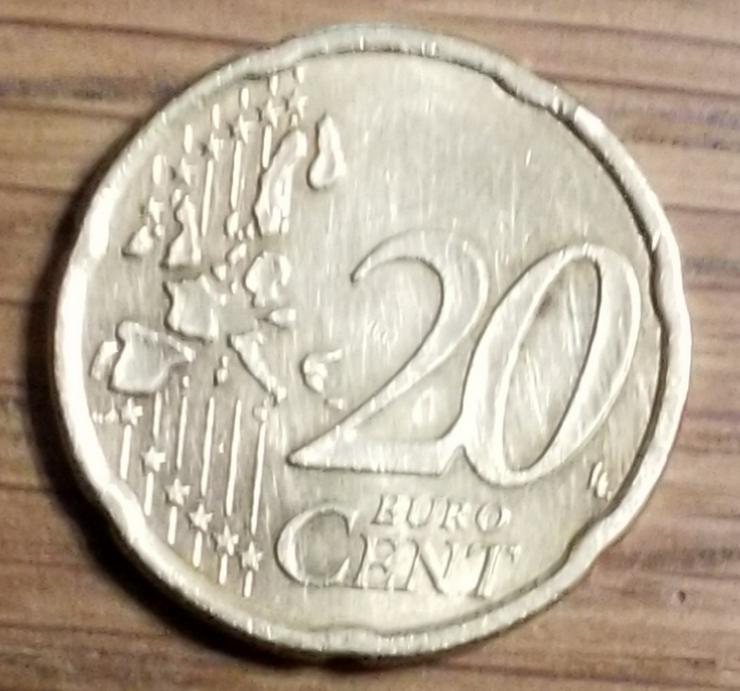 Bild 2: 20 Cent Münze aus Österreich von 2007