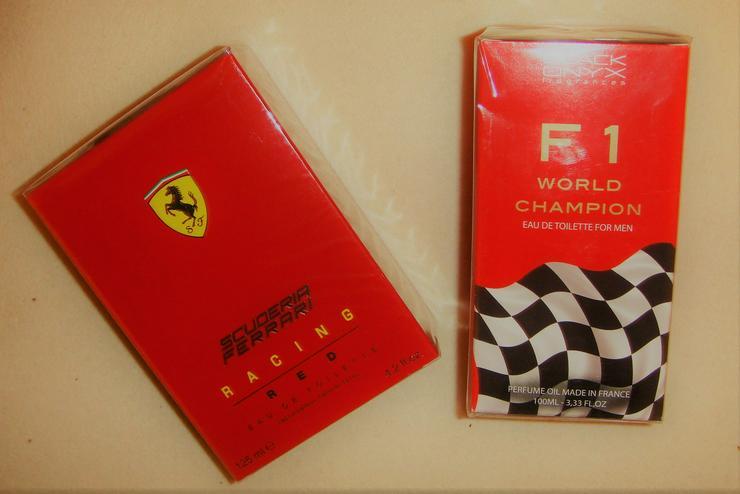"""Scuderia Ferrari-Racing Red EdT 125 ml   """" NEU """""""