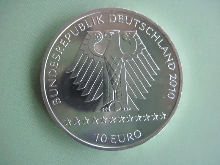 Bild 2: 10 Euro Silber Gedenkmünze 2010 J FIS Alpine Ski WM 2011