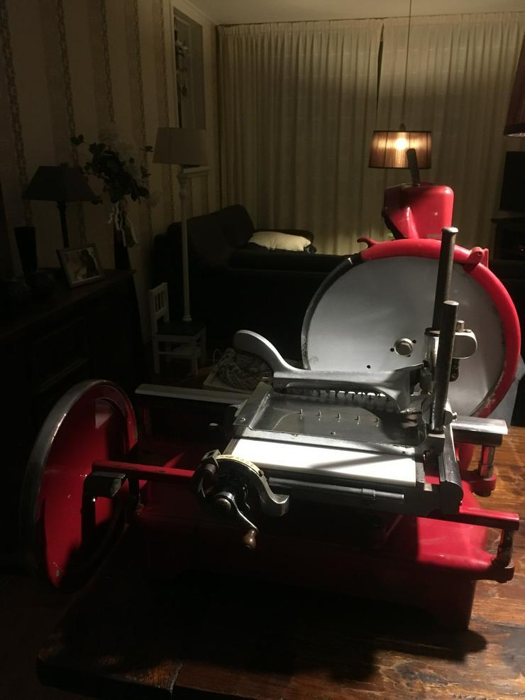 aufschnittmaschine mit schwungrad antik Nationaal wie Berkel 5 Holland 1928