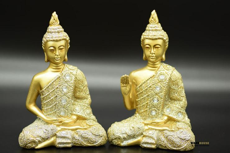 Deko Thai Buddha 2er Set