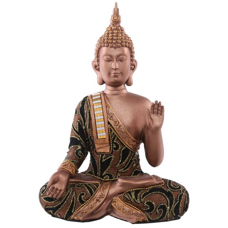 Thai Buddha Sitzt