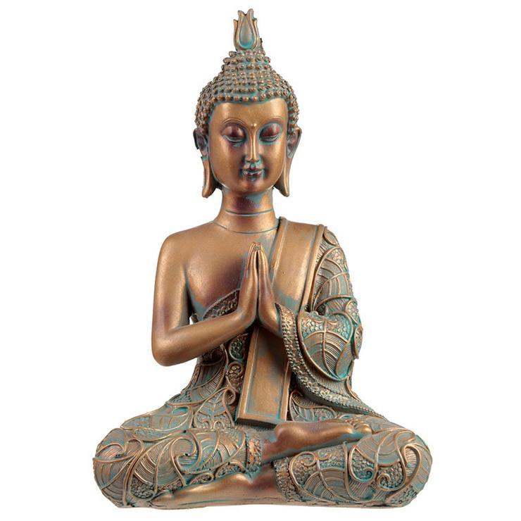 Thai Buddha Figur Kupfer