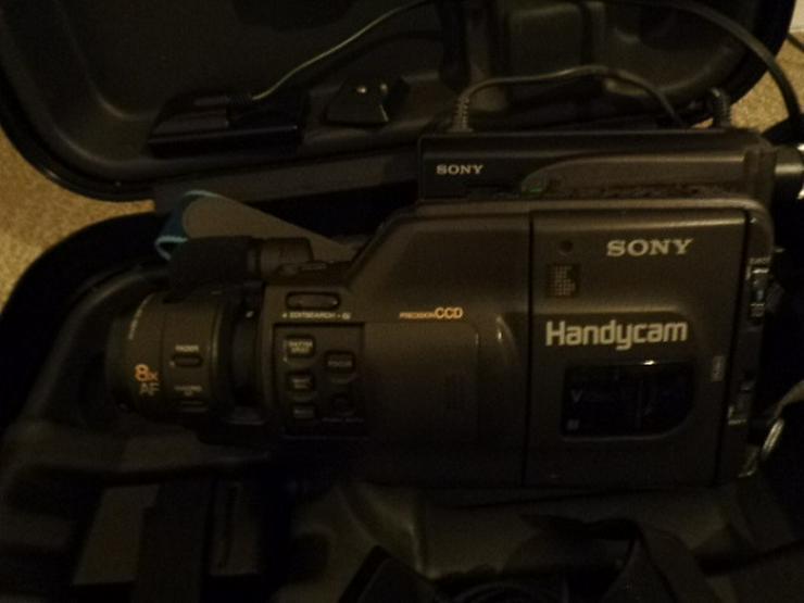 Bild 2: Super 8 Kamera - Rekorder CCD F450E Sony+Beschreibung+Koffer+u.a