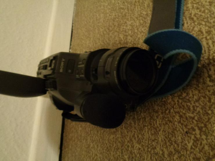 Bild 5: Super 8 Kamera - Rekorder CCD F450E Sony+Beschreibung+Koffer+u.a