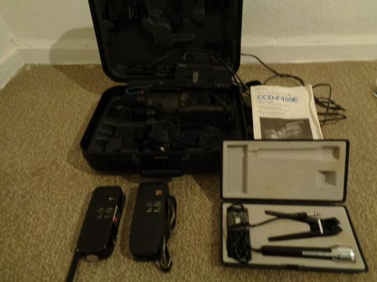 Super 8 Kamera - Rekorder CCD F450E Sony+Beschreibung+Koffer+u.a - Camcorder - Bild 1