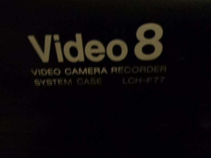 Bild 6: Super 8 Kamera - Rekorder CCD F450E Sony+Beschreibung+Koffer+u.a