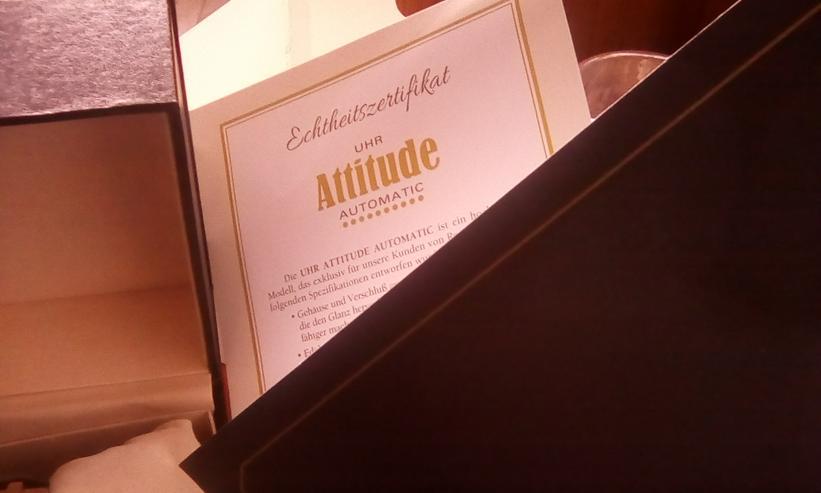 Bild 2: Neue Attitude Automatik Herrenuhr