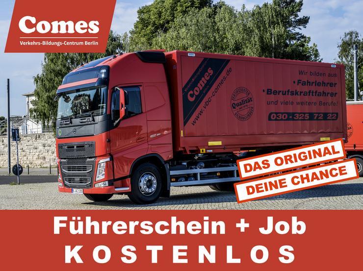 LKW Führerschein C/CE machen & Job - Info 29.05.19-11.00 Uhr - LKW-Fahrer - Bild 1