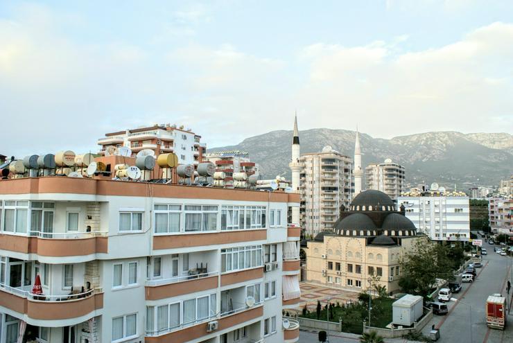 Türkei, Alanya, Budwig, preiswerte 2 Zi. Wohn.,150 m zum Strand, 177-1