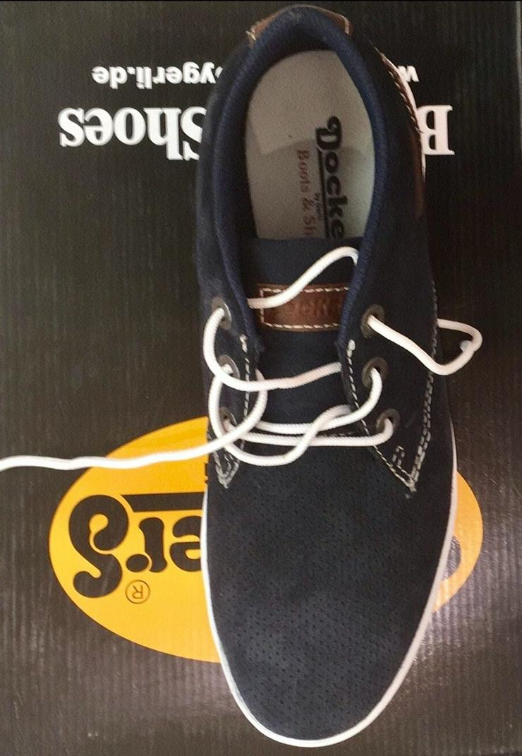 Sneakers Dunkelblau v Dockers neuwertig Gr. 40 1x getragen