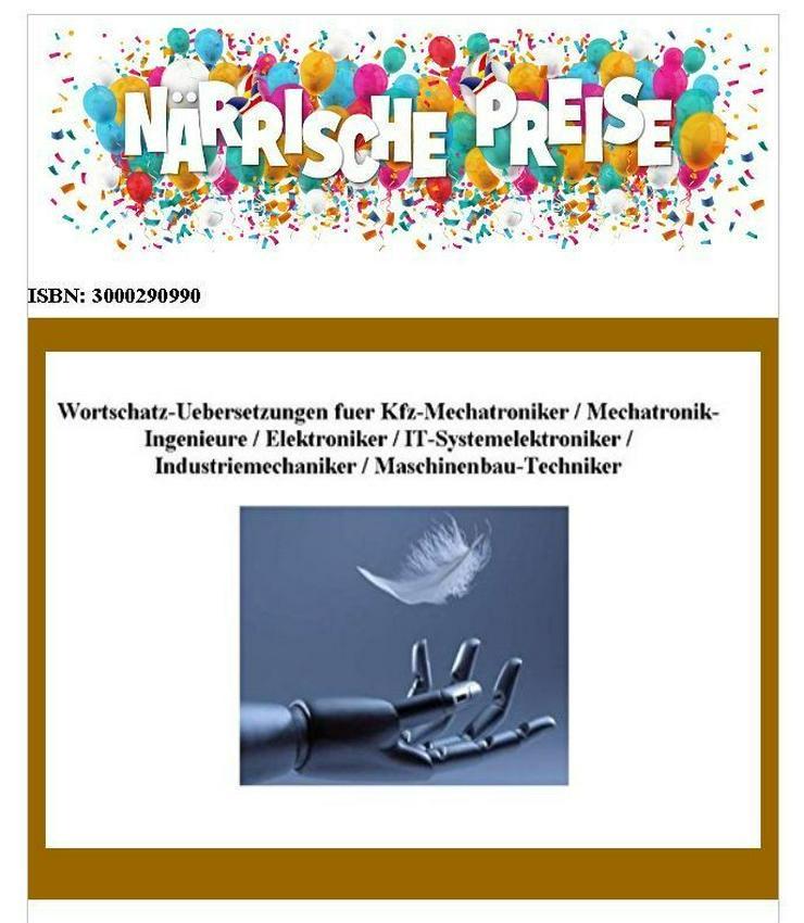 deutsch-englisch Uebersetzung: Kfz-Technik-Woerterbuch in Papierform oder CD-ROM - Wörterbücher - Bild 1