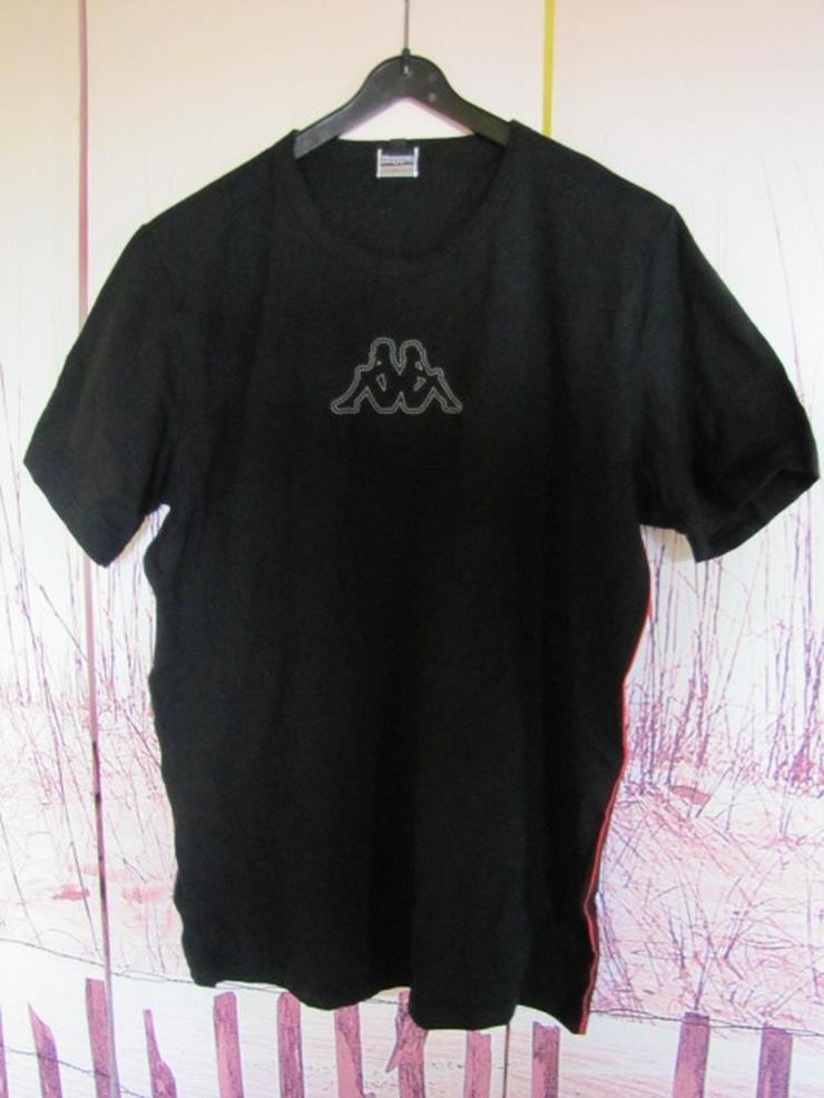 KAPPA° T-Shirt mit Motiv - Baumwolle Stretch Größe L - NEU !