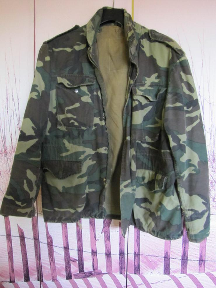 Original US Feldjacke Camouflage 80er Jahre - Größe S (44-46) - RAR !