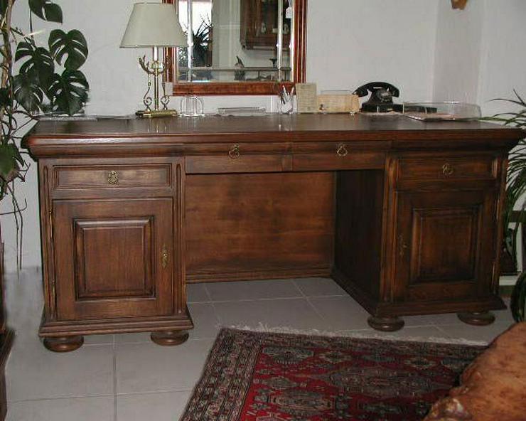 Schreibtisch mit Bücherregal, VOLLMASSIV Eiche Handgefertigt..NEU...NEU