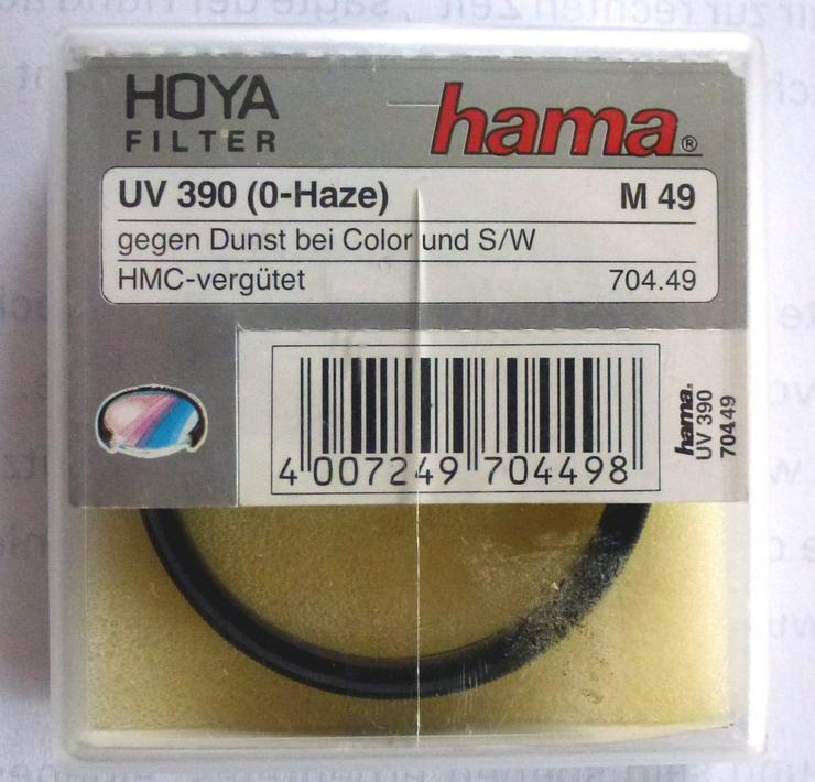 Hama HOYA Filter, Gegen  Dunst bei Color und S/W - Objektive, Filter & Zubehör - Bild 1