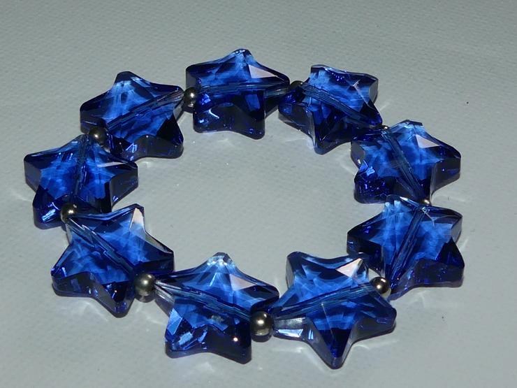 blaues Sternenarmband von Rosenthal, neu (auch zu verschicken)