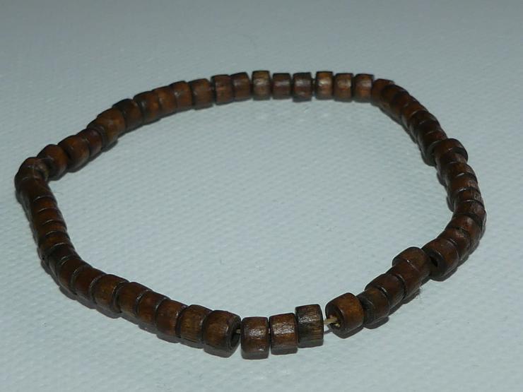 Armband mit braunen Holzperlen (auch zu verschicken)