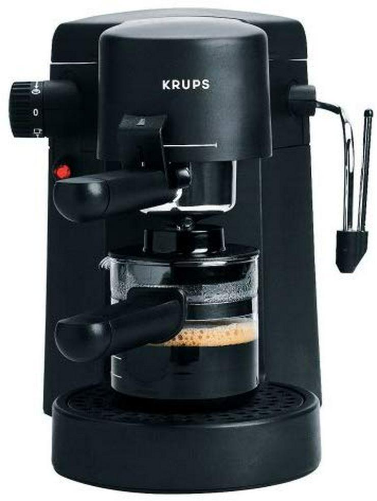 Bild 4: Krups Bravo Plus F 872 42 Espressomaschine schwarz mit komplettem Zubehör: