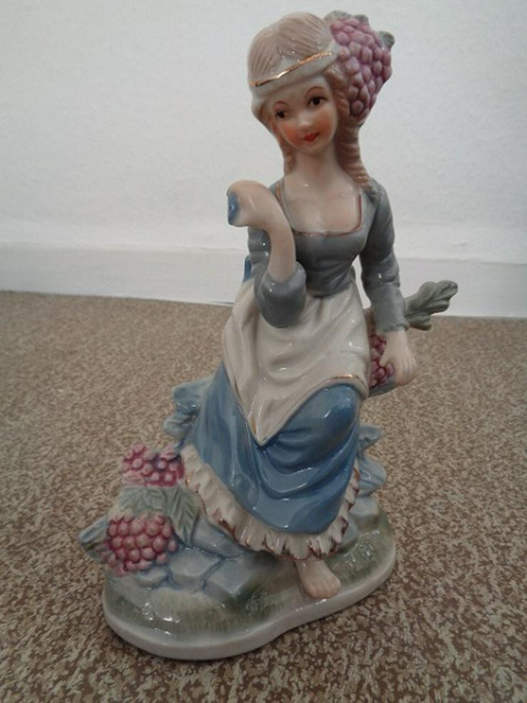 Porzellanfigur Frau, ca. 60er Jahre sehr guter Zustand