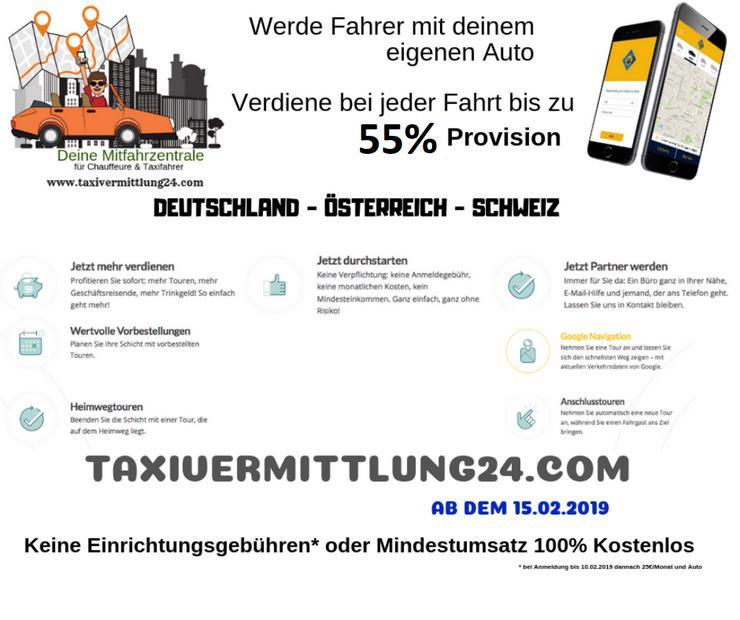 18 Chauffeure ganz Deutschland gesucht mit P-Schein & eigenes Auto