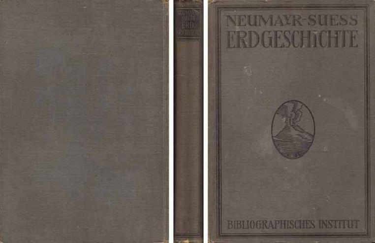 Buch von M. Neumayr - Erdgeschichte - Dynamische Geologie - 1920