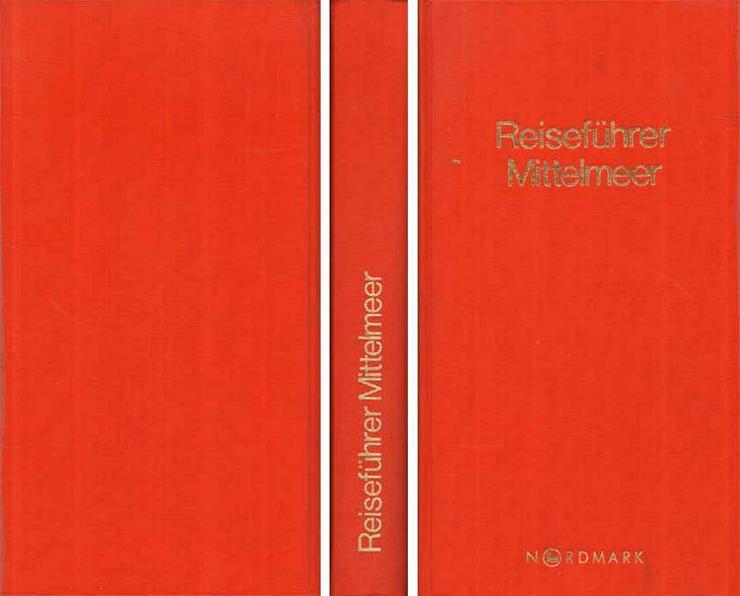Baedekers Allianz Reiseführer Mittelmeer mit großer Karte - 2. Aufl. 1984-1986