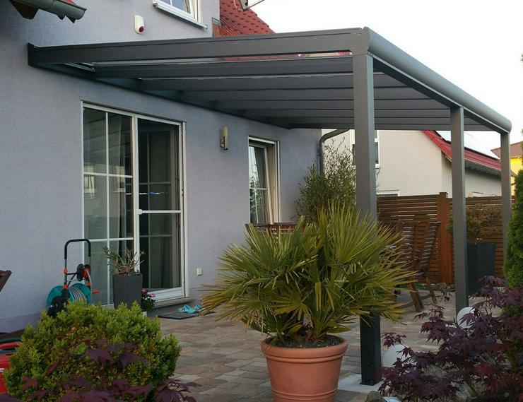 Gut bekannt Terrassenüberdachung aus Holz oder Alu mit Stegplatten und Glas OQ71